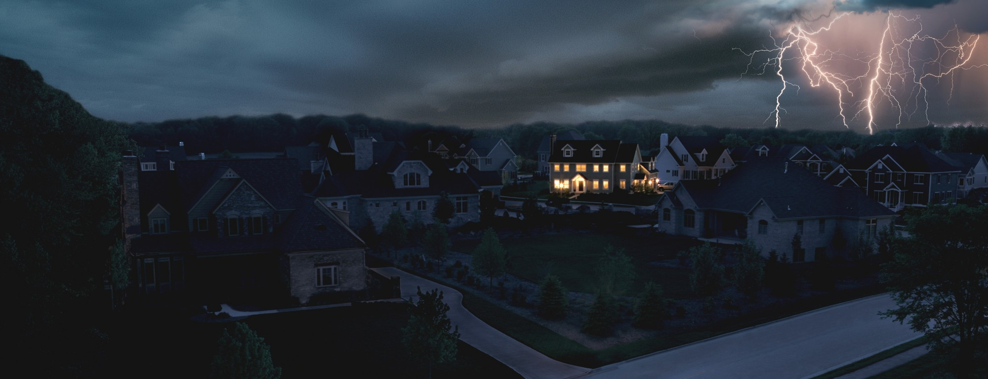 Power outage in a neighbourhood